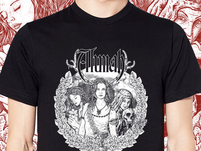 "Alunah ""Triple Moon Goddess"" T-Shirt main photo"