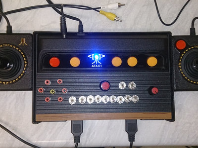 Circuit Bent Atari Glitch Console by Psychiceyeclix main photo