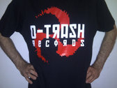 DTRASH200 - D-TRASH Records T-Shirt photo