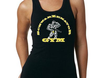 """SchwarZenatoR Gym"" Logo Ladies Tank Top & Download of ""Conan The Barbarian""! main photo"