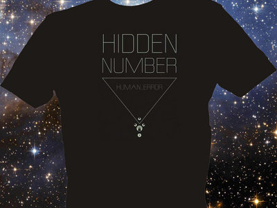 Hidden Number, Human_Error T-Shirt (Dark Fabric) main photo