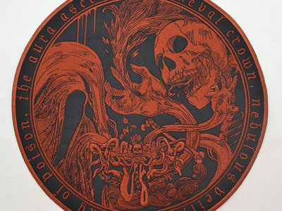 WORMLUST - Primeval Crown embroidered backpatch main photo