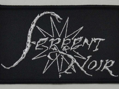 SERPENT NOIR logo embroidered patch main photo