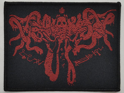 WORMLUST - HV Lyngdal logo woven patch main photo