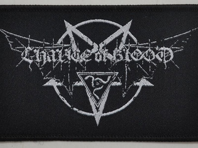 CHALICE OF BLOOD logo woven patch main photo