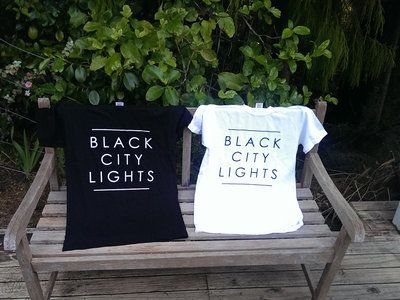 Black City Lights T-Shirt (White) main photo