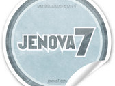 "Small ""Jenova 7"" Logo Stickers photo"
