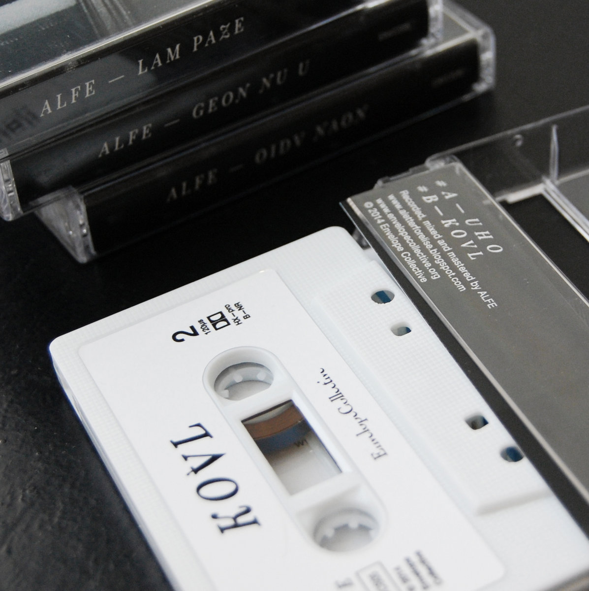 Four Tapes Collection | Envelope Collective