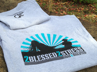 2Blessed 2Stress T-Shirt (Grey Limited Fall Colors) main photo