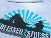 2Blessed 2Stress T-Shirt (Grey Limited Fall Colors) photo
