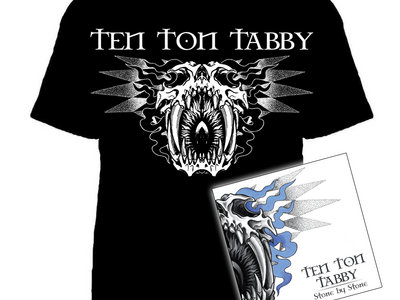 Sabre-Tooth T-Shirt & Stone By Stone CD Combo main photo