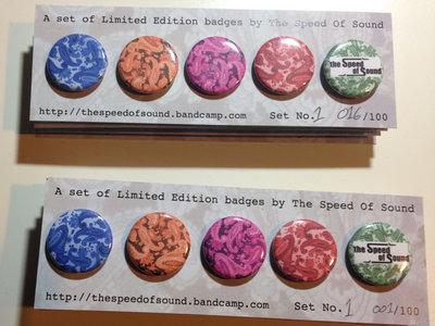 Limited Edition button badge Set No.1 main photo