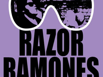 Official Razor Ramones Madness T-Shirt main photo