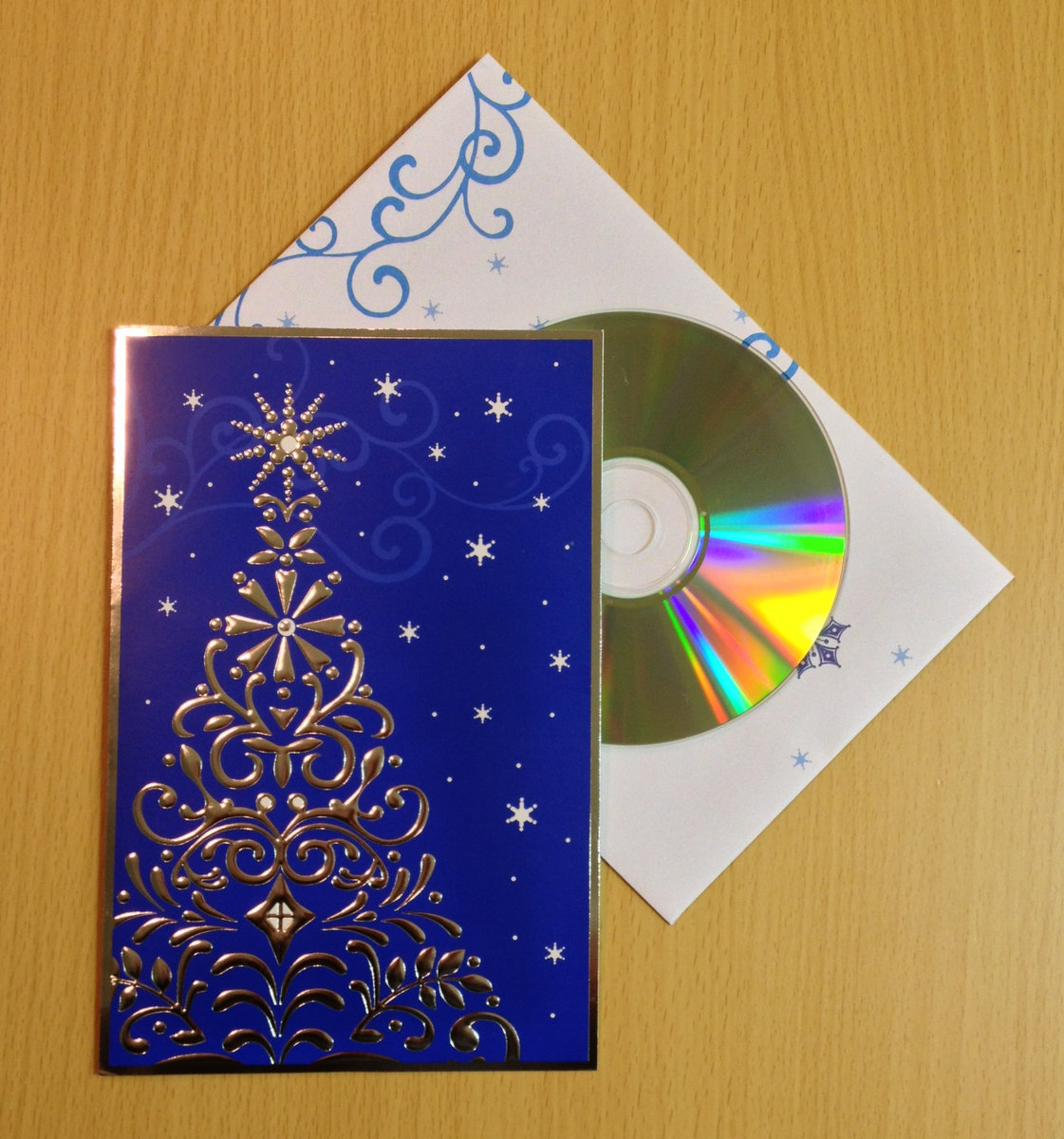 Classic christmas card ep wintersong classic christmas card cd comes packaged in a beautiful holiday greeting card with matching decorative envelope perfect for gift giving m4hsunfo