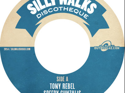 "Clock Tower Riddim - 7"" Vinyl - Tony Rebel/Exco Levi main photo"