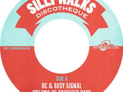 "Brighter Days Riddim - 7"" Vinyl - Busy Signal & RC/Hezron main photo"