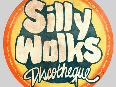 Silly Walks Discotheque - Sticker (Package of 5 Stickers) main photo