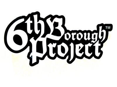 RGRV006 | 6TH BOROUGH PROJECT | VINYL STICKER main photo