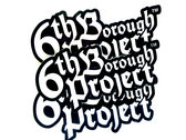 RGRV006 | 6TH BOROUGH PROJECT | VINYL STICKER photo
