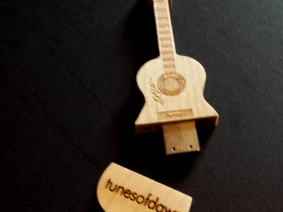 USB Flash Drive /Guitar / Wood main photo