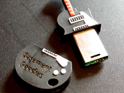 USB Flash Drive / Guitar / Rubber main photo