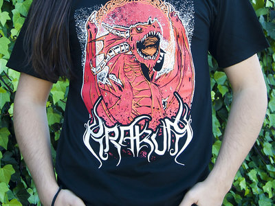 Red Dragon Man T-shirt main photo