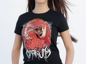 Red Dragon Girl T-shirt photo