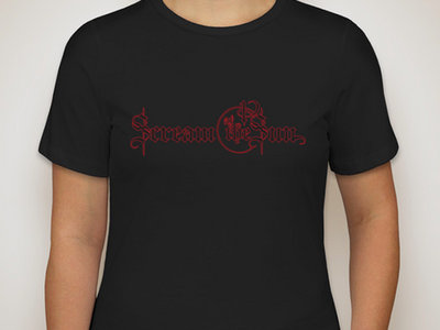 """""""Red Outline"""" Logo and Logo Bug - Women's Bella T-Shirt with FREE SONG DOWNLOAD main photo"""