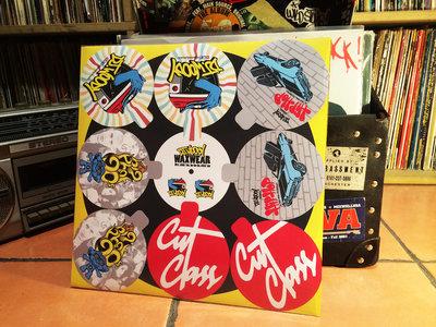 Limited Edition DJ Woody 'Waxwear' Vinyl Sticker pack main photo