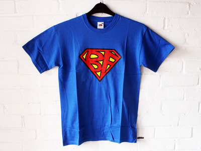 SUPERBANG - T-Shirt - Blue - Mens (Unisex) / Womens (Ladyfit) - Various Sizes main photo