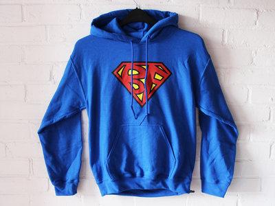 SUPERBANG - Unisex Hoodie - Blue - Various Sizes main photo
