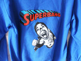 SUPERBANG - Unisex Hoodie - Blue - Various Sizes photo