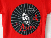 THE AMEN - T-Shirt - Mens (Unisex) / Womens (Ladyfit) - Red / Black - Various Sizes photo
