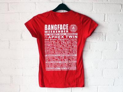 BANGFACE Weekender 2012 Line-Up Womens T-Shirt (Version 1) Various Colours main photo