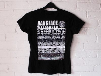 BANGFACE Weekender 2012 Line-Up Womens T-Shirt (Version 2) Various Colours main photo