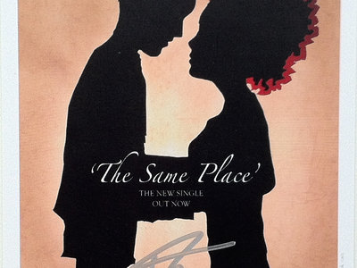 Signed 'The Same Place' Art Card main photo