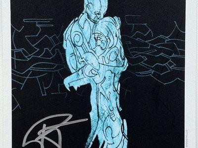 Signed 'Snowglobe' Art Card main photo