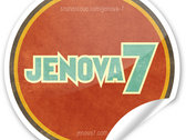 "Large ""Jenova 7"" Logo Stickers photo"