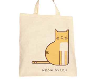 """Meow Dyson"" Tote Bag main photo"