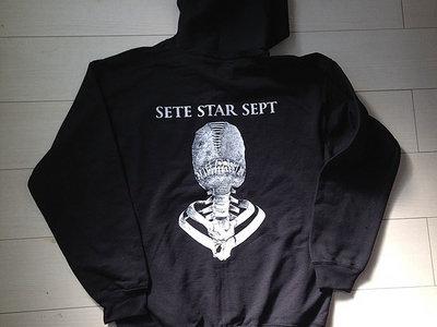 """""""Torture Machine"""" Zip hoodie - Black main photo"""
