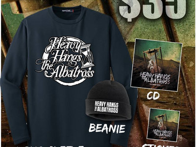 Bundle #5 (Beanie, Long Sleeve Shirt, CD, and Sticker) main photo