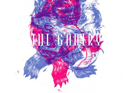 The Gantry T-Shirt by Blank Ink (Bear Vs Wolf) main photo