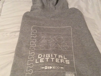 Digital Letters gray hoodie/Digital Letters album main photo