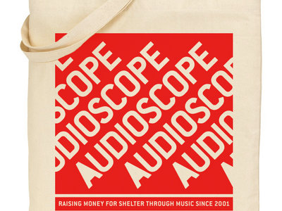 AUDIOSCOPE limited edition tote bag main photo