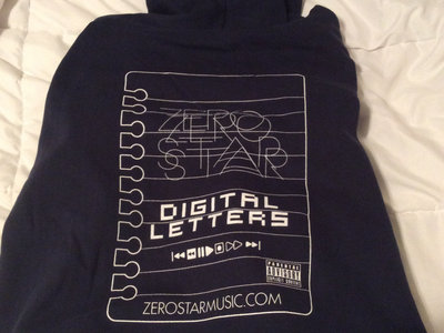 Digital Letters dark blue hoodie/Digital Letters album main photo