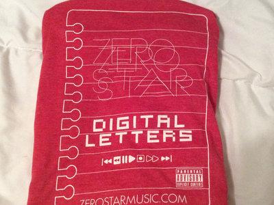 Red Digital Letters T shirt/ Digital Letters album main photo