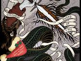 'Sword of Fire' artwork tee photo