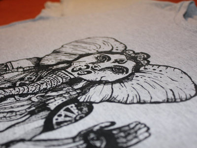 "Heavy Cotton Shirt ""ElephantLady"" Grey main photo"