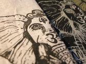 "Heavy Cotton Shirt ""ElephantLady"" Grey photo"