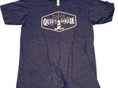 Quiet Parade Lighthouse Shirt (Men's) | Black & Heathered Navy photo